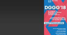 62. DGGG-KONGRESS